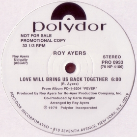 Roy Ayers ‎- Love Will Bring Us Back Together / Rock Your Roll