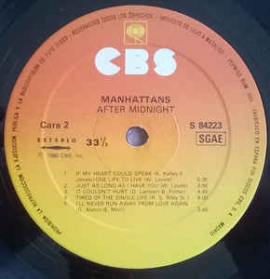Manhattans - After Midnight