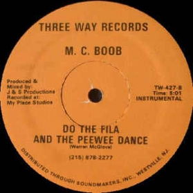 M.C. Boob - Do The Fila And The Peewee Dance