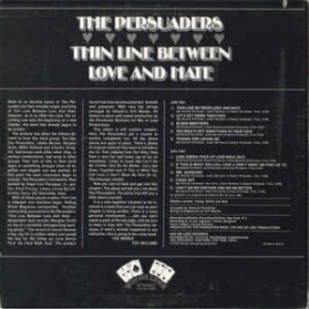 The Persuaders - Thin Line Between Love And Hate