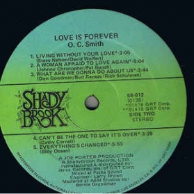 O.C. Smith - Love Is Forever