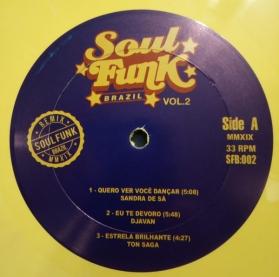 Various - Soul Funk Brazil Vol. 2