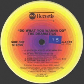 The Dramatics - Do What You Wanna Do