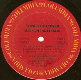 Tower Of Power - Back On The Streets