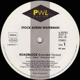 Stock Aitken Waterman - Roadblock