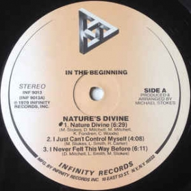 Nature's Divine - In The Beginning