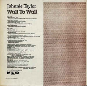Johnnie Taylor ‎- Wall To Wall