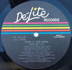 Kool and The Gang - Live At P.J.'s