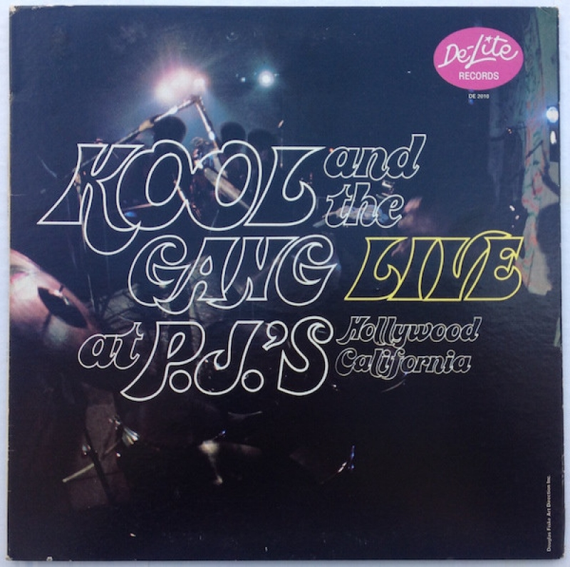 Kool and The Gang ‎- Live At P.J.'s