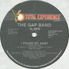 The Gap Band - I Found My Baby