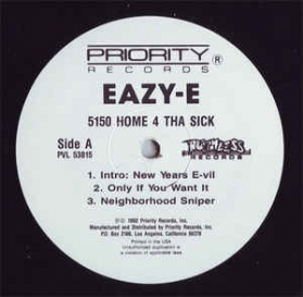 Eazy-E - 5150 Home 4 Tha Sick