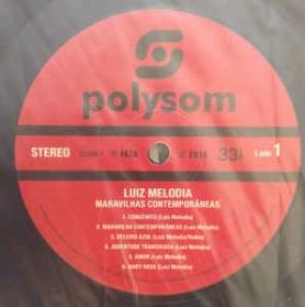 Luiz Melodia - Maravilhas Contemporâneas