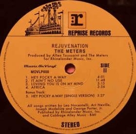 The Meters - Rejuvenation